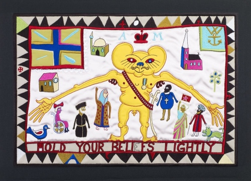 Hold Your Beliefs Lightly by Grayson Perry RA at
