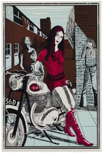 02 From Six Snapshots Of Julie by Grayson Perry RA at