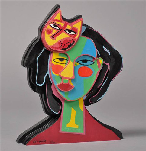 Cat In Love by Guillaume Corneille at Guillaume Corneille