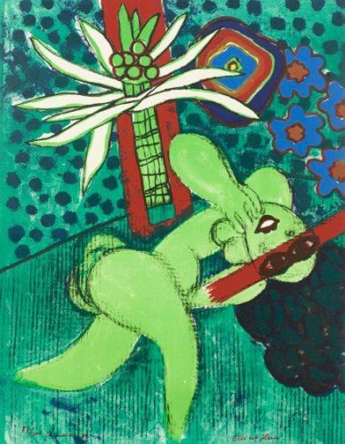Elle Est Fleur by Guillaume Corneille at