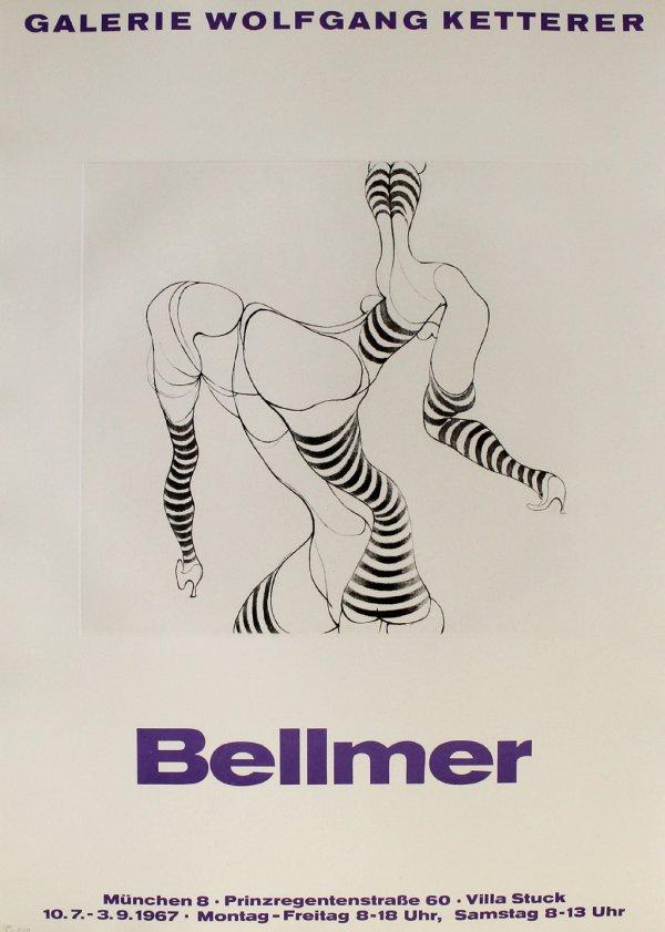 Liegende In Strümpfen by Hans Bellmer