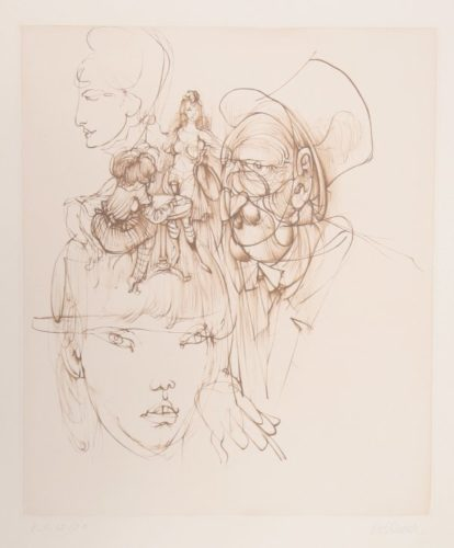 Untitled (from Alice In Wonderland) by Hans Bellmer at