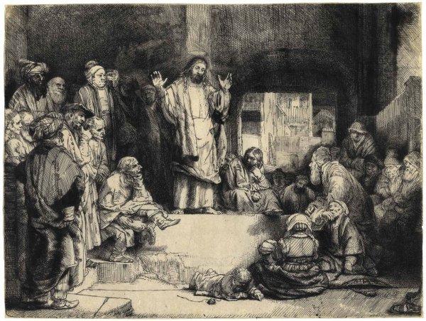 La Petite Tombe by Harmensz van Rijn Rembrandt
