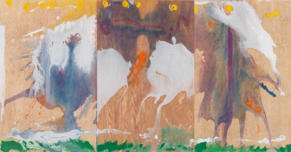 Book Of Clouds by Helen Frankenthaler at