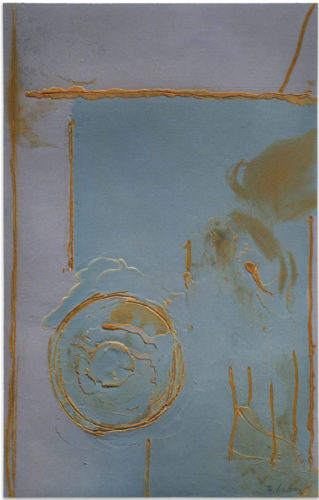 Guadalupe by Helen Frankenthaler at Mixografia (IFPDA)