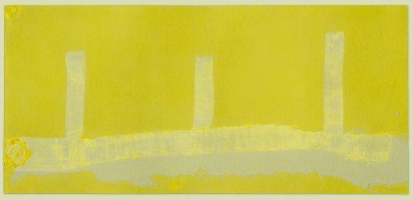 Hermes by Helen Frankenthaler at Mixografia (IFPDA)
