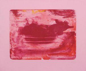 Red Sea by Helen Frankenthaler at