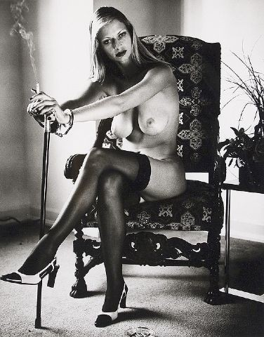 Cyberwoman 7 by Helmut Newton at