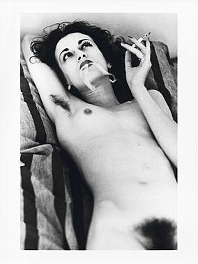 Violetta Sanchez, Paris 1979 by Helmut Newton at