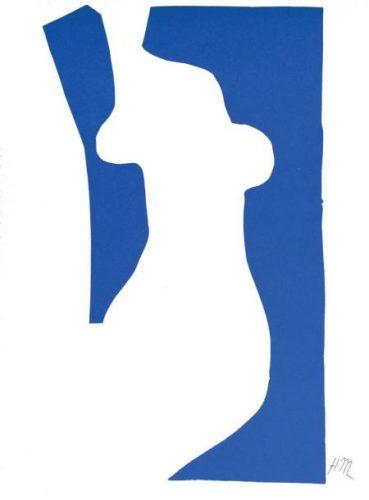 Nu Bleu Vii by Henri Matisse
