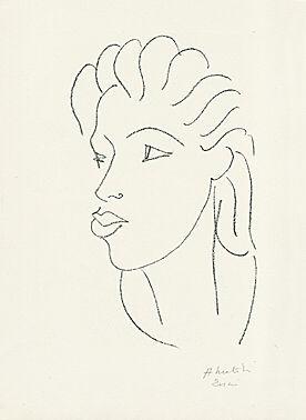 Chinoise aux cheveux striés by Henri Matisse