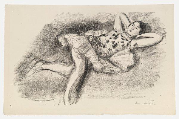 Danseuse by Henri Matisse