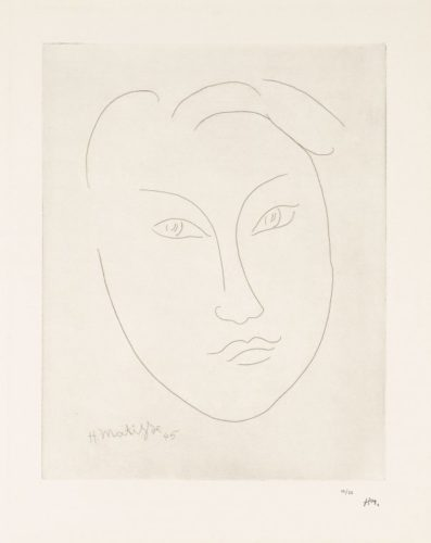 Masque De Jeune GarÇon (mask Of A Young Boy) by Henri Matisse at Christopher-Clark Fine Art