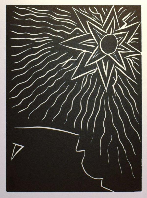 Mais Soudain Le Soleil. No 1. by Henri Matisse
