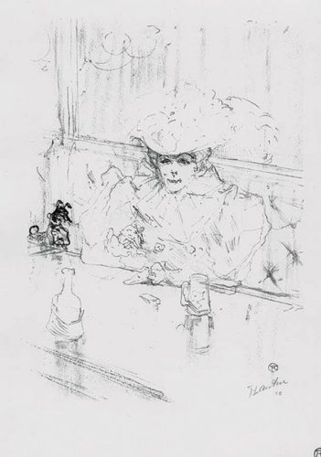 Au Hanneton by Henri de Toulouse-Lautrec at R. S. Johnson Fine Art (IFPDA)