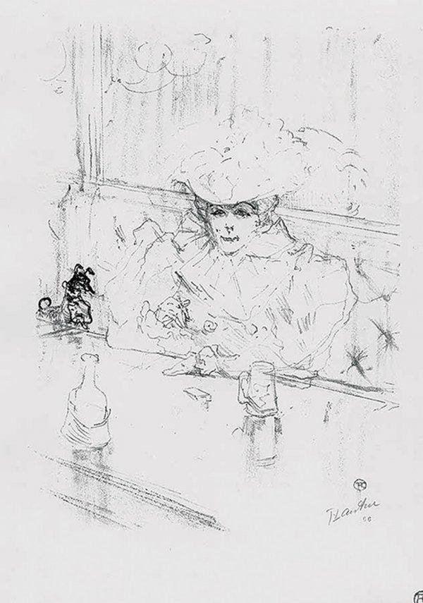 Au Hanneton by Henri de Toulouse-Lautrec