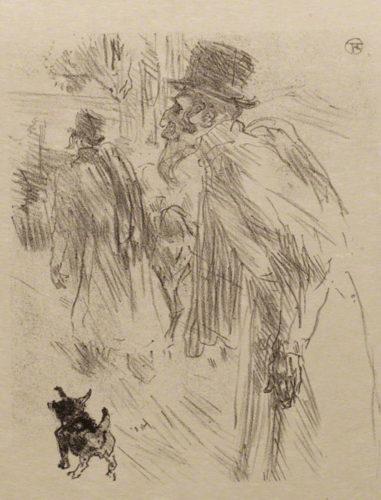 Au Pied Du Sinaï by Henri de Toulouse-Lautrec at
