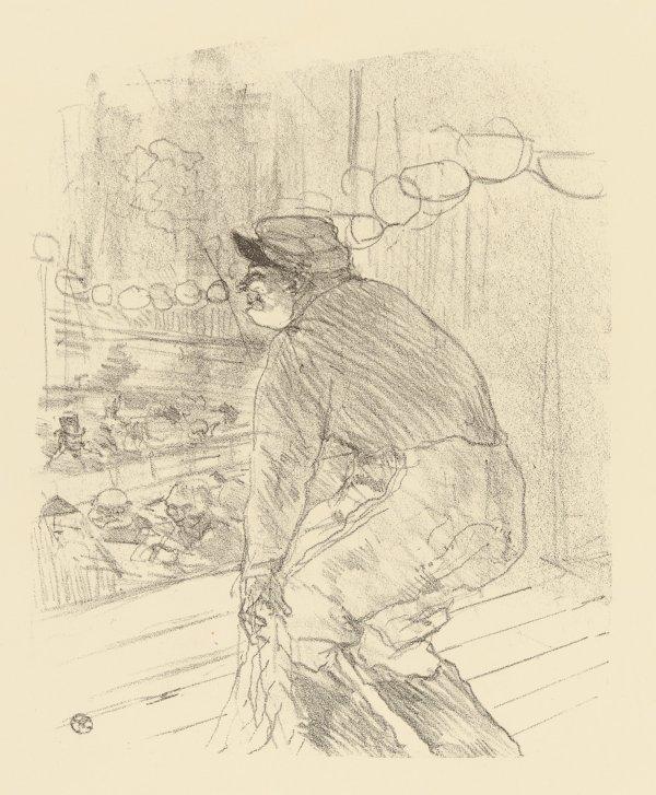 Polin by Henri de Toulouse-Lautrec
