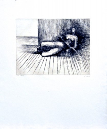 Reclining Figure by Henry Moore at