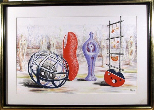 Sculptural Objects by Henry Moore at