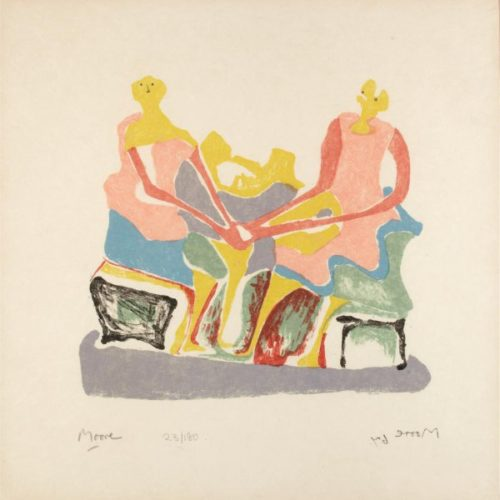 Shelter Sketch Book by Henry Moore