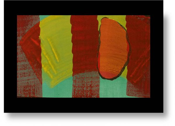 Alexander Street by Howard Hodgkin