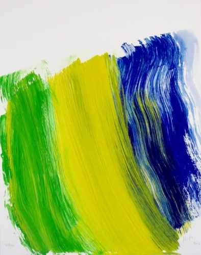Road To Rio by Howard Hodgkin