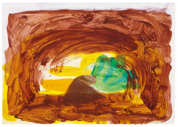 Vegetable by Howard Hodgkin