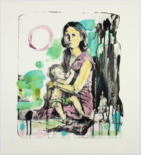 Breast Milk (15-509.10) by Hung Liu