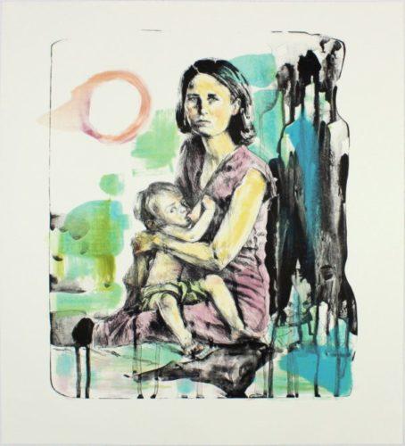 Breast Milk (15-509.6) by Hung Liu