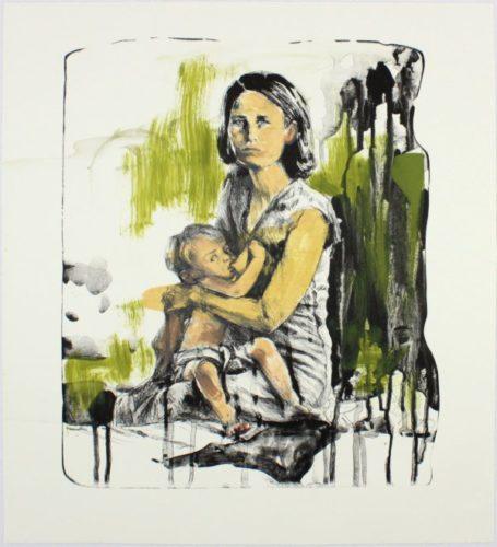Breast Milk (15-509.7) by Hung Liu