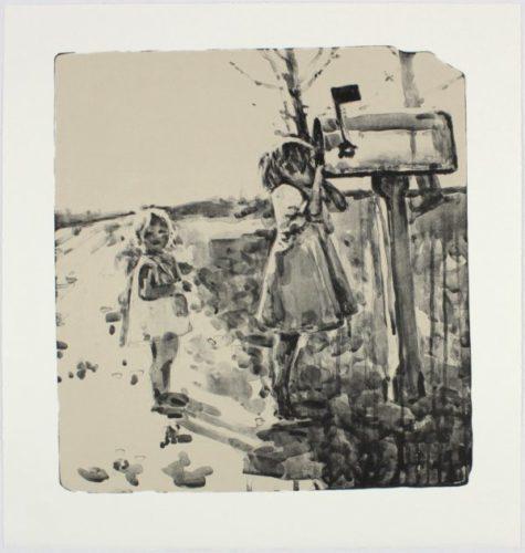 Mailbox (15-324) by Hung Liu