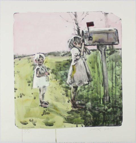 Mailbox (15-324a) by Hung Liu