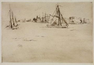 Dordrecht by James Abbott McNeill Whistler at