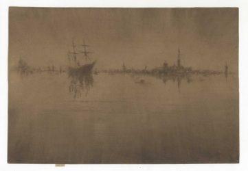Nocturne by James Abbott McNeill Whistler at Harris Schrank Fine Prints (IFPDA)