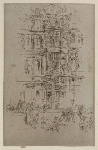 Palaces, Brussels by James Abbott McNeill Whistler
