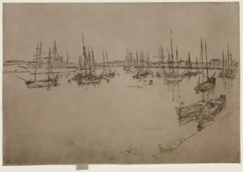 San Giorgio by James Abbott McNeill Whistler at