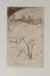 Sketch After Cecil Lawson's 'swan And Iris' by James Abbott McNeill Whistler at