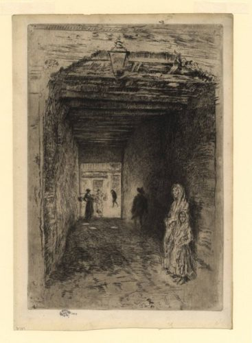 The Beggars by James Abbott McNeill Whistler