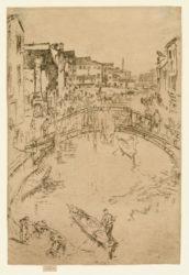 The Bridge, Santa Maria by James Abbott McNeill Whistler at Harris Schrank Fine Prints (IFPDA)