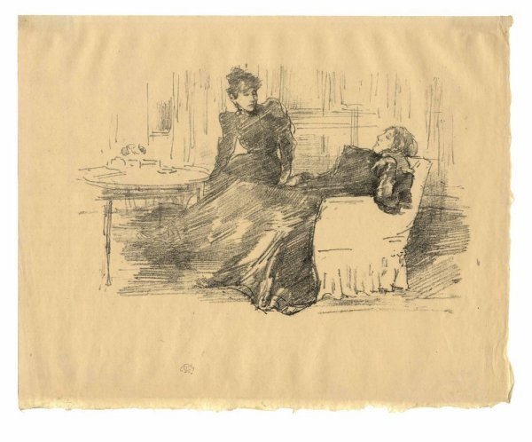 The Sisters by James Abbott McNeill Whistler