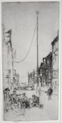 The Venetian Mast by James Abbott McNeill Whistler at Harris Schrank Fine Prints (IFPDA)