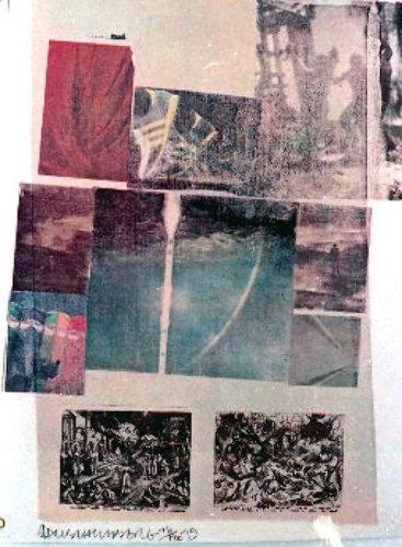 Artichoke by Robert Rauschenberg at Stripeman Gallery