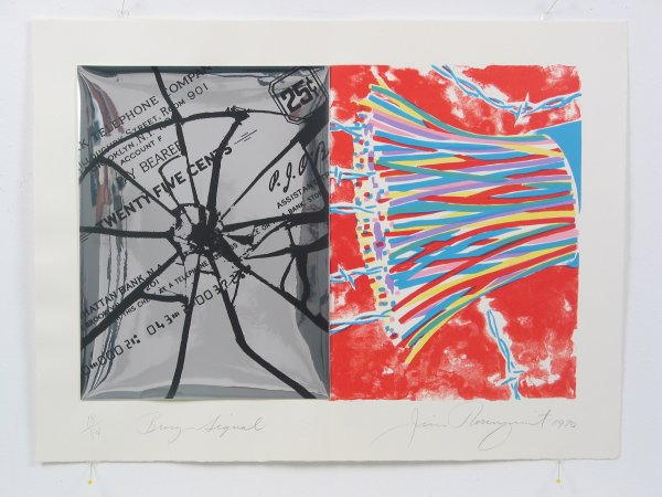 Busy Signal by James Rosenquist