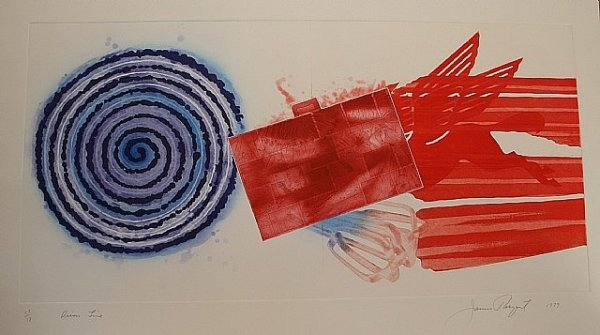 Diver's Line by James Rosenquist