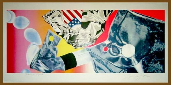 Flamingo Capsule by James Rosenquist