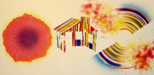 Hot Lake (state I) by James Rosenquist