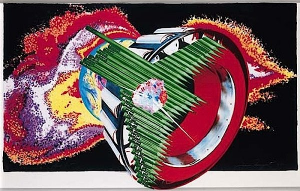 Space Dust (from Welcome To The Water Planet) by James Rosenquist