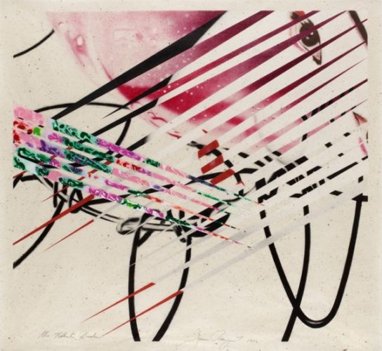 The Kabuki Blushes by James Rosenquist