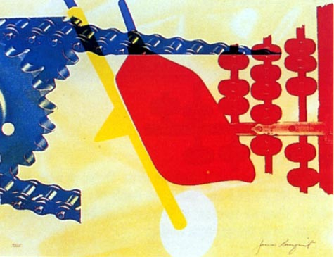 Whipped Butter For Eugene Ruchin by James Rosenquist